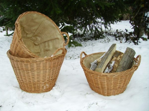 Gartenkorb aus Weide (3)
