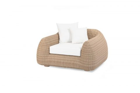 "Outdoor-Sessel ""Emma"", honey"