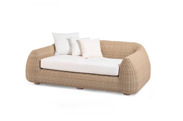 "Outdoor-Sofa ""Emma"", 2-Sitzer, honey"