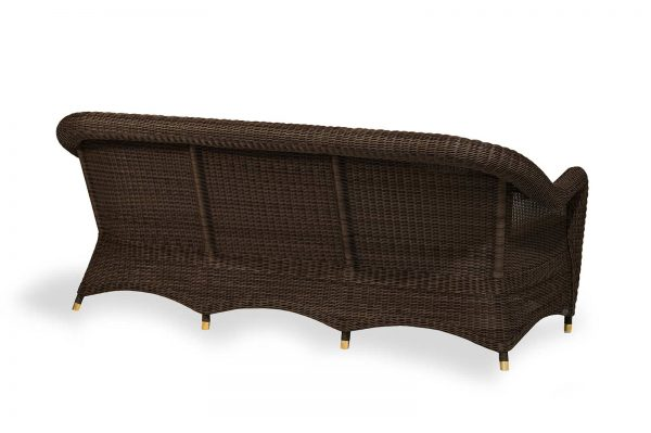 "Outdoor-Sofa ""Giardino"", 3-Sitzer, coffee (2)"