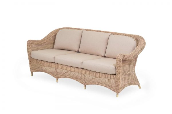 "Outdoor-Sofa ""Giardino"", 3-Sitzer, honey"